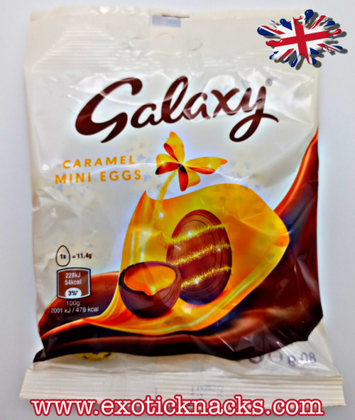 Galaxy Caramel Mini Egg Bag