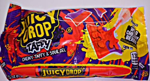 Topps Juicy Drop Taffy Wild Cherry Berry