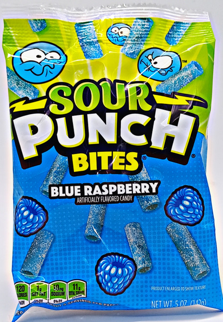 Sour Punch Bites - Blue Raspberry