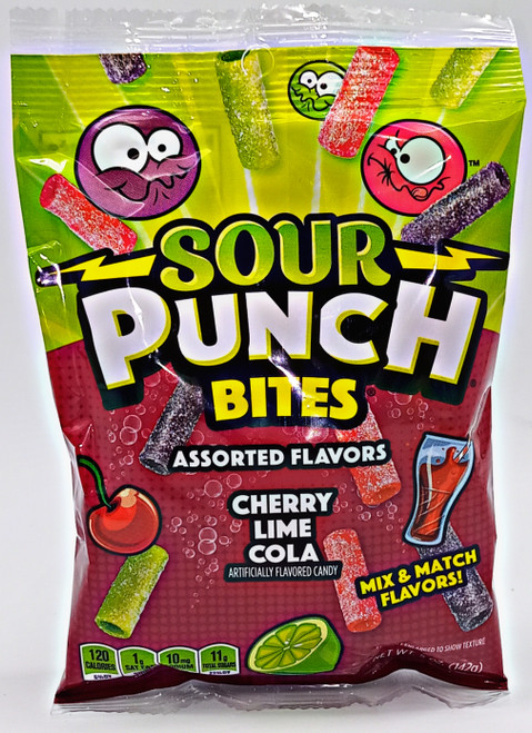Sour Punch Bites - Cherry Lime Cola