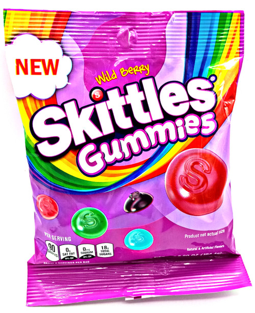 Skittles Gummies Wildberry