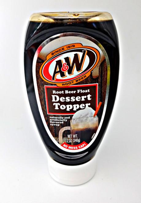 A&W Dessert Topper Root Beer Float Flavor
