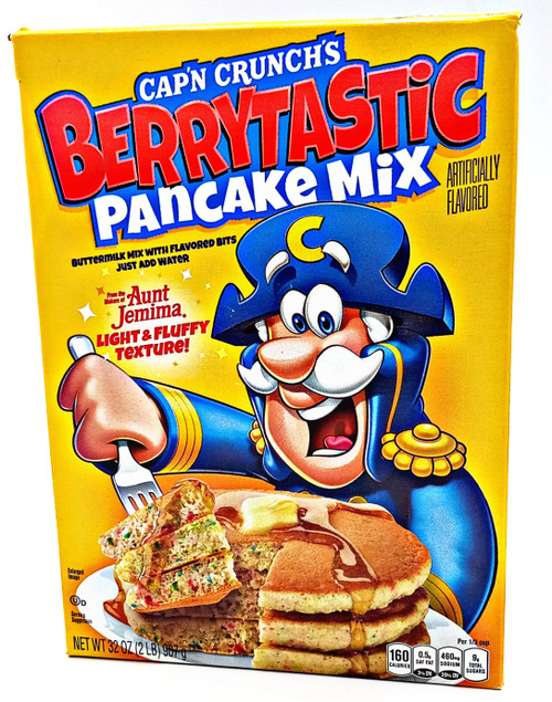CAPN CRUNCH'S BerryTastic Pancake Mix