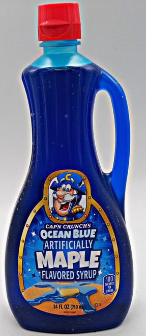 CAPN CRUNCH Ocean Blue Maple Flavored  Syrup