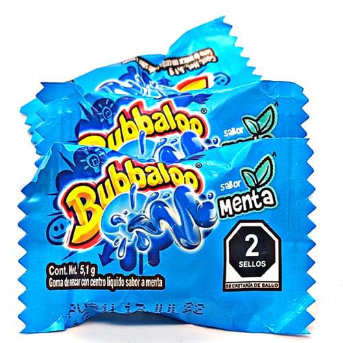 Bubbaloo Gum - Mint Flavor