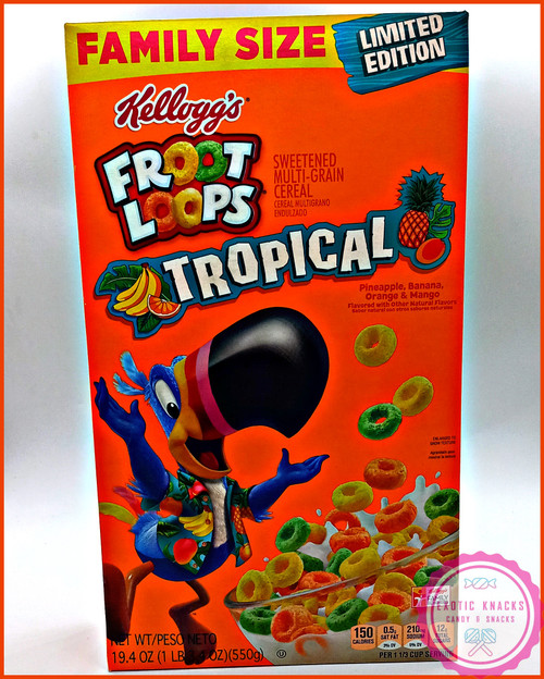 Froot Loops Tropical Family Size