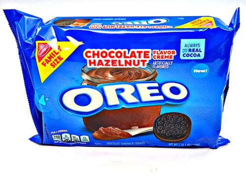 Chocolate Hazelnut Oreo Cookies