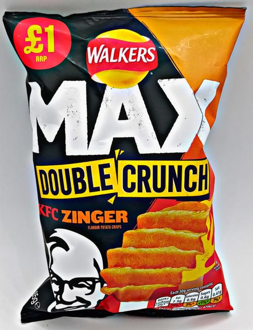 Walkers MAX Double Crunch KFC Zinger Chips