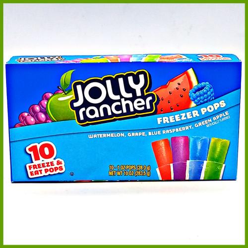 Jolly Rancher Freezer Pops