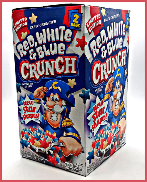 Cap'n Crunch Red White and Blue Crunch  - 2 Bags