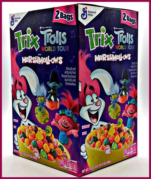Trix Trolls World Tour with Marshmallows