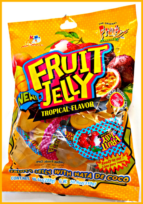 Fruity's Fruit Jelly Tropical Flavor
