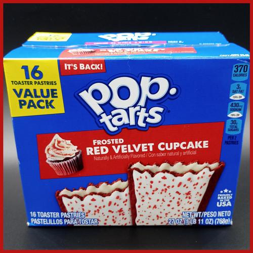 Pop Tarts Frosted Red Velvet Cupcake