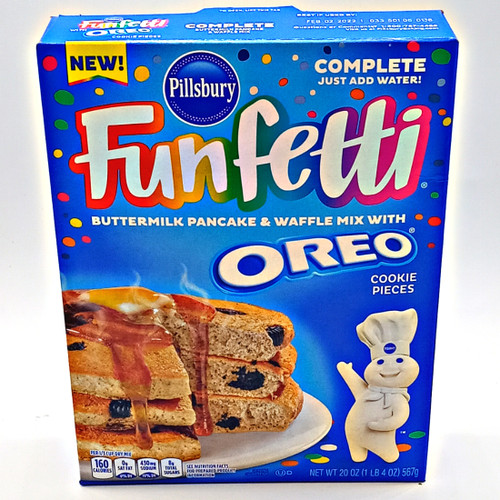 Funfetti Oreo Buttermilk Pancake and Waffle Mix