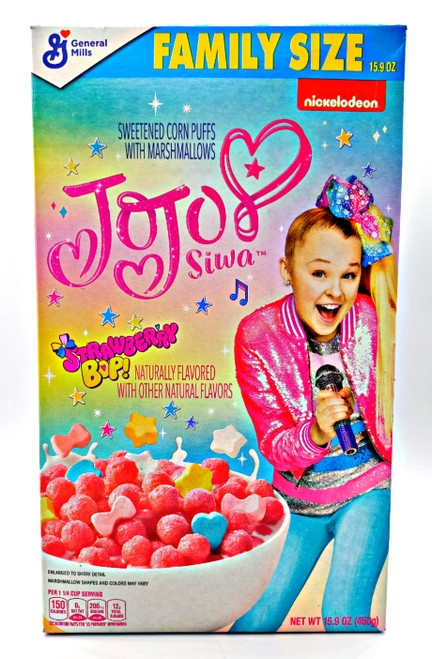 JoJo Siwa Strawberry Bop Cereal