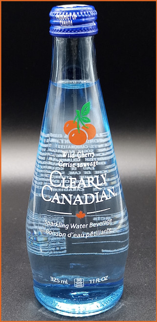 Clearly Canadian Wild Cherry Flavored Sparkling Water Beverage