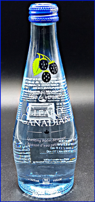 Clearly Canadian Mountain Blackberry Flavored Sparkling Water Beverage