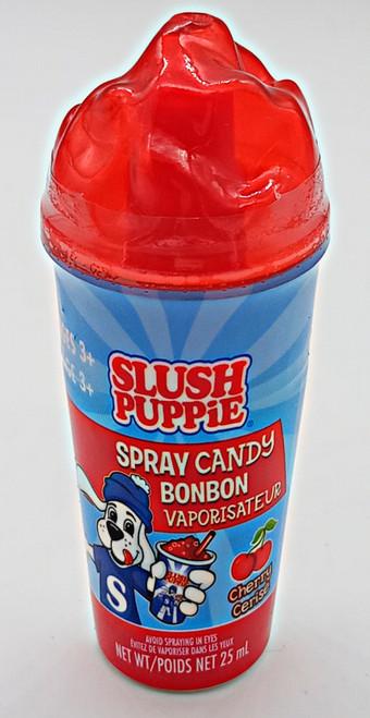 Slush Puppie Spray Candy Cherry flavor