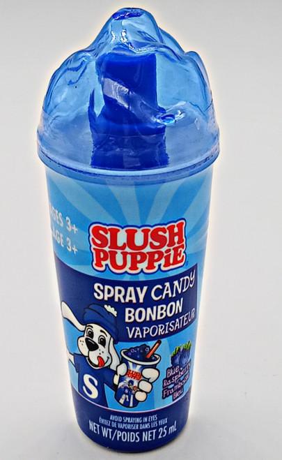 Slush Puppie Spray Candy Blue Raspberry flavor