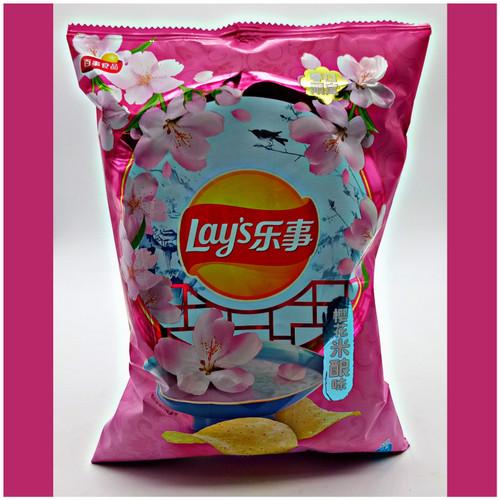 Lay's Sakura (Cherry Blossom)