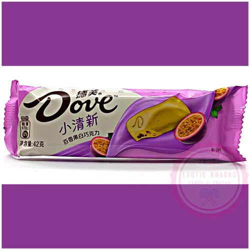 Dove White Chocolate Passion Fruit Bar