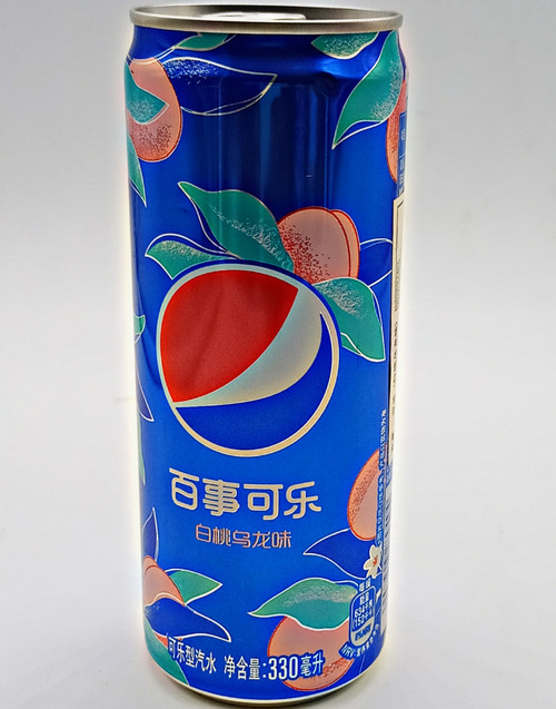 Pepsi Peach Can