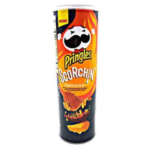 Pringles Scorchin Cheddar