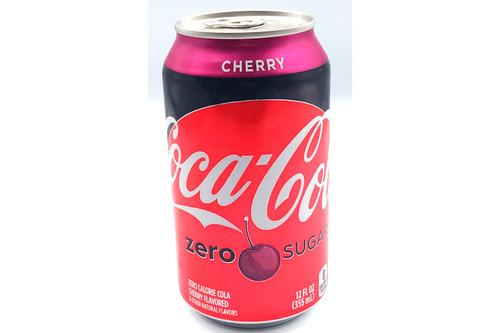 Cherry Coke Zero Can