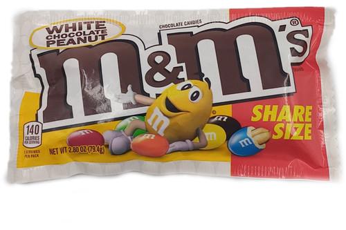 M&M's White Chocolate Peanut Share Size
