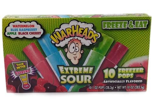Warheads Extreme Sour Freezer Pops