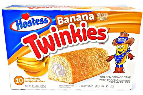 Twinkies - Banana x 10 units