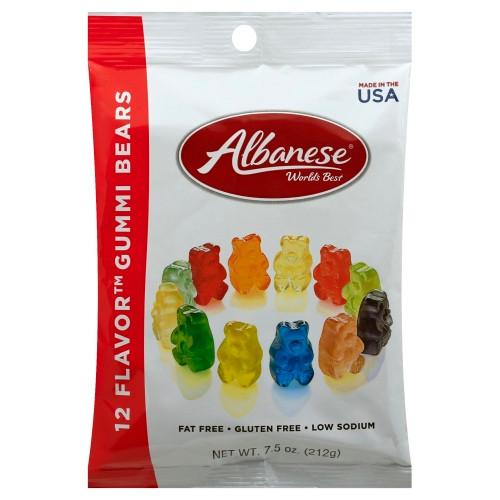 Albanese 12 Flavor Gummi Bears 212g