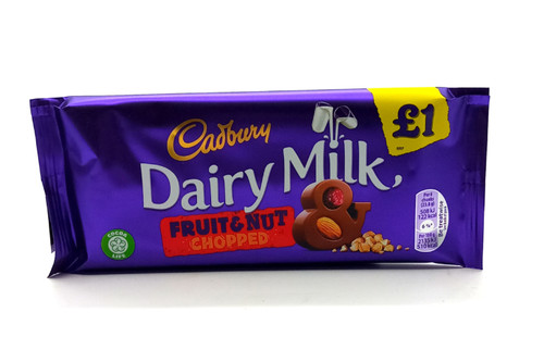 Cadbury Dairy Milk Fruit & Nut Chopped