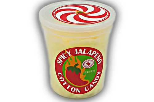Spicy Jalapeno Cotton Candy