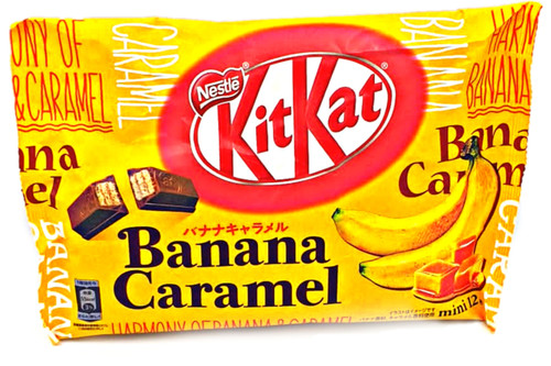 Kit Kat Banana Caramel
