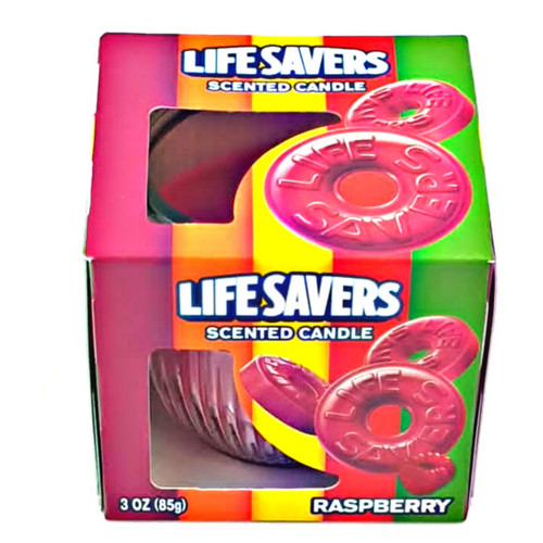 Lifesavers Raspberry Scented Candles