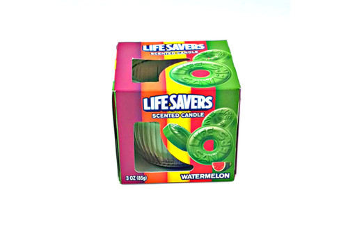 Lifesavers Watermelon Scented Candle