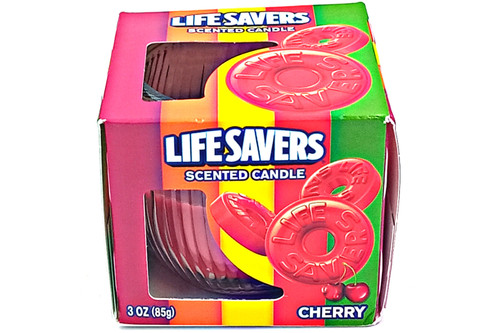 Lifesavers Cherry Scented Candles
