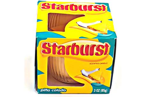 Starburst Pina Colada Scented Candle