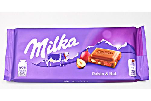 Milka Raisin Nut