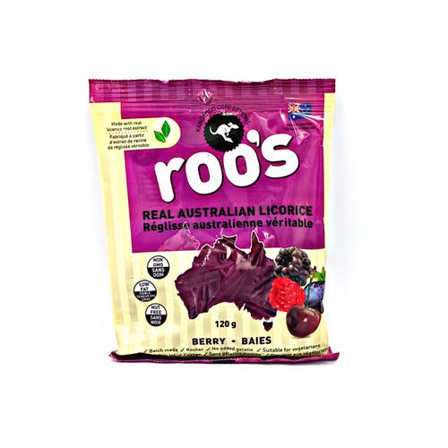 Roo's Australian Licorice -  Berry