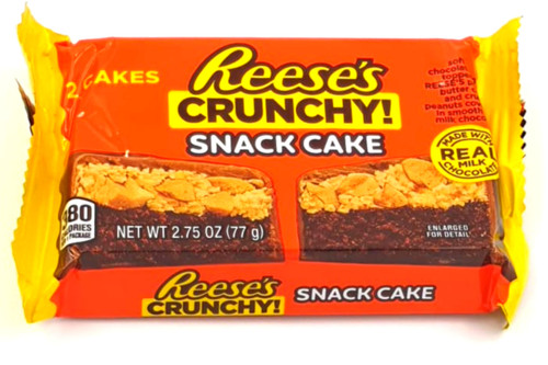 Reese's Crunchy Snack Cake