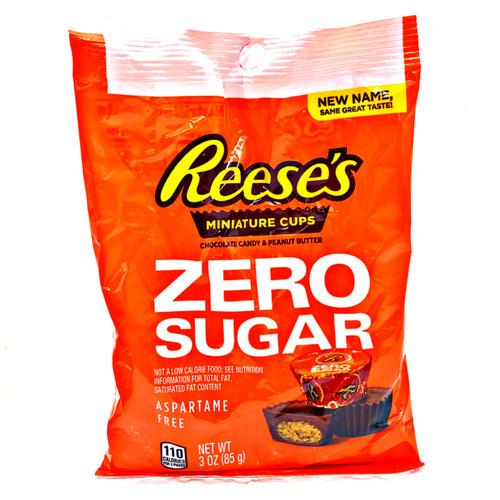 Reeses Miniature Cups Zero Sugar