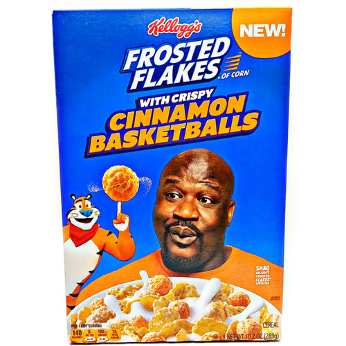 Frosted Flakes with Cinnamon Balls