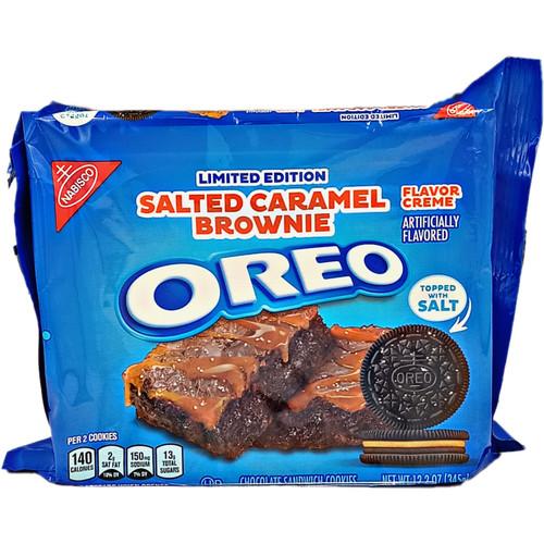 Oreo Salted Caramel Cookies