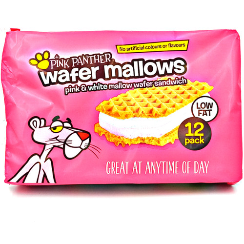 Pink Panther Wafer Mallows