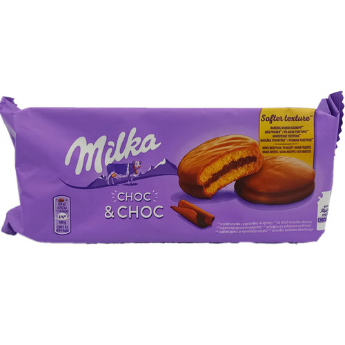 Milka  Choc & Choc Soft Cookies
