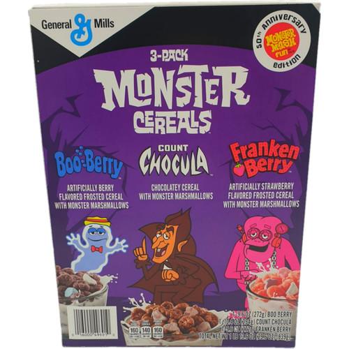 3 Pack Monster Cereal