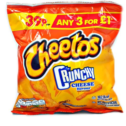 Cheetos Crunchy Cheese Flavor Corn Snacks
