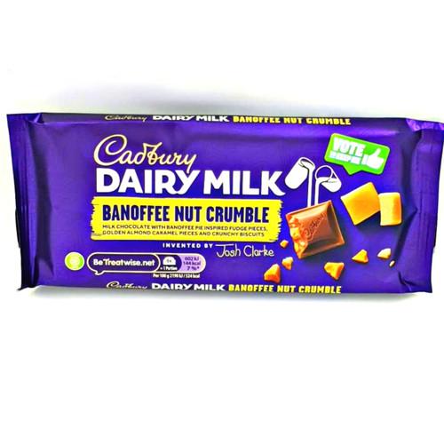 Cadbury Dairy Milk Creations Banoffee Nut Crumble